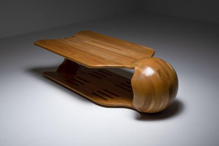 Studio craft coffee table - 1970s