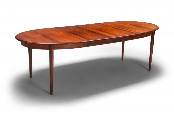 Danish Modern Extendable Dining Table by Møller - 1970s