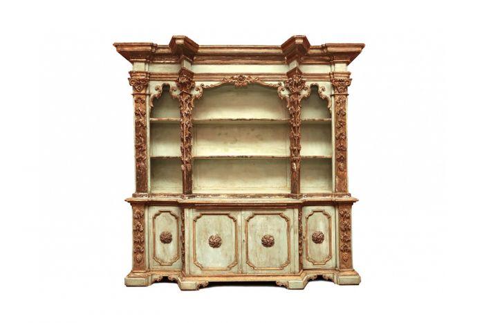 Antique Italian Baroque Cabinet - 1800s