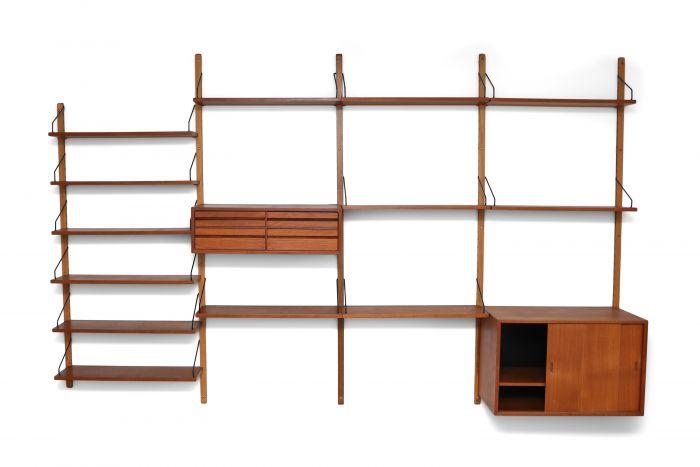 Danish Modern Poul Cadovius Royal System - 1960s