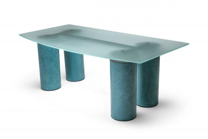 Massimo Vignelli 'Serenissimo' Table Desk for Acerbis - 1970s
