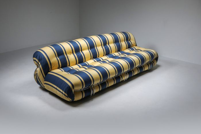 Soriana Sofa by Afra and Tobia Scarpa for Cassina - 1970's