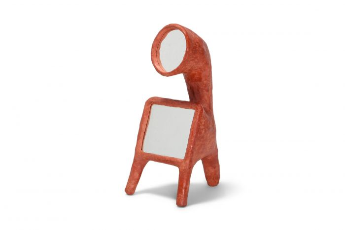 Cotta mirror 2 by Decio Studio Made at alfa.brussels for Everyday Gallery - 2019