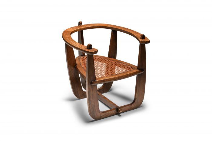Horseshoe Chair Constructivist Era The Netherlands - 1930's