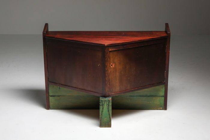 Dutch Modernist Cabinet by Hildo Krop - 1920s