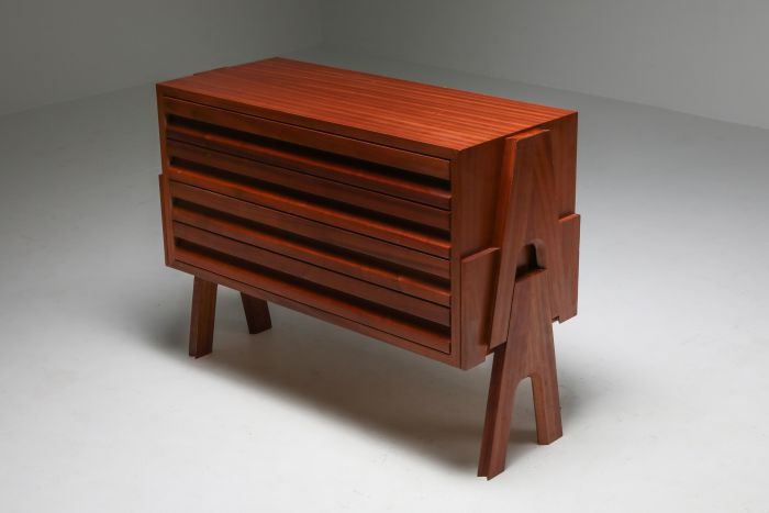 Mangiarotti 'Cavaletto' Commode with Drawers - 1950's