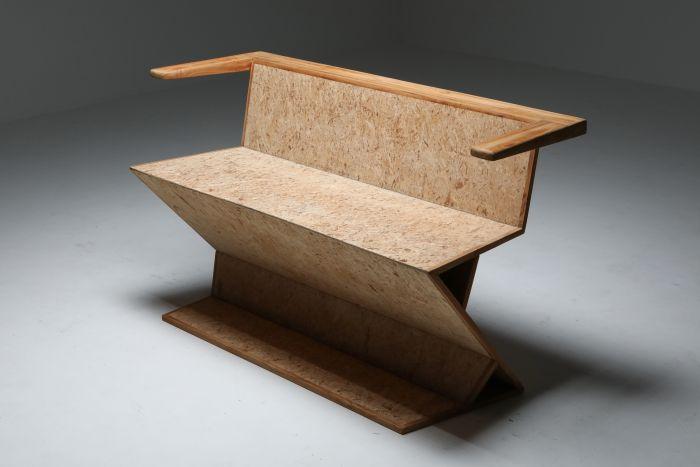 Rietveld Inspired Bench - 2000's