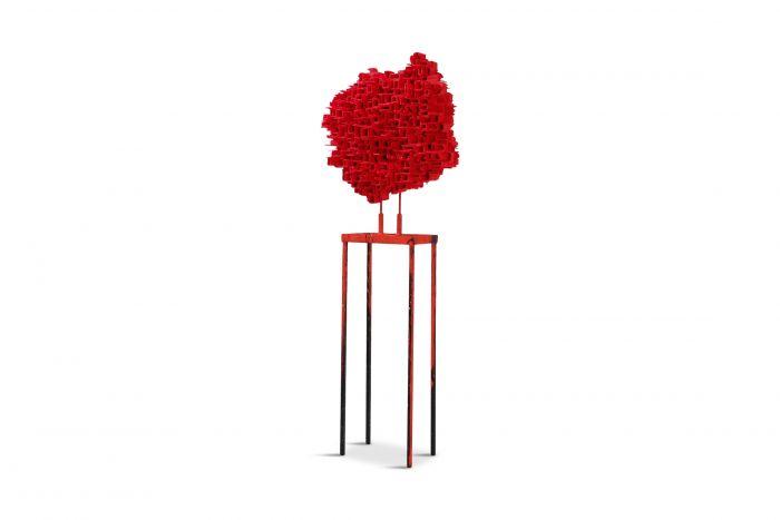 """Art Sculpture Mixed-Media """"Bidonville view"""" by Arne Quinze - 2011"""