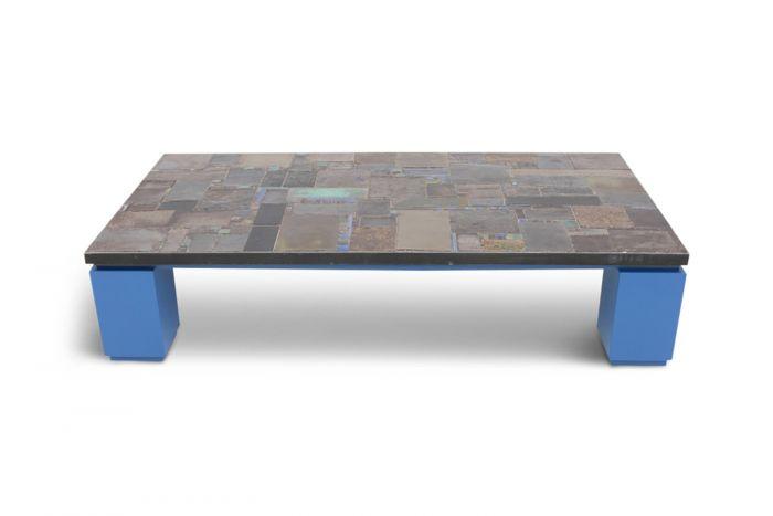 Ceramic Tile Coffee Table, Pia Manu - 1970s