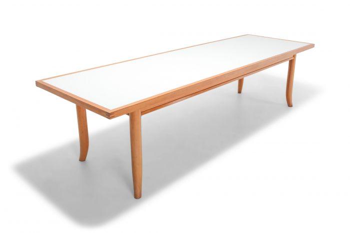 American Modern Oak Dining Table by Robsjohn Gibbings - 1970s