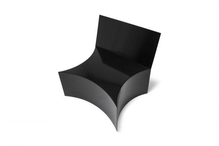 Chair by Bayny in Black Powder Coated Steel - 2019