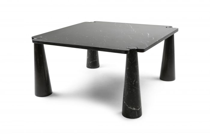 Angelo Mangiarotti 'Eros' Square Marble Dining Table - 1970s