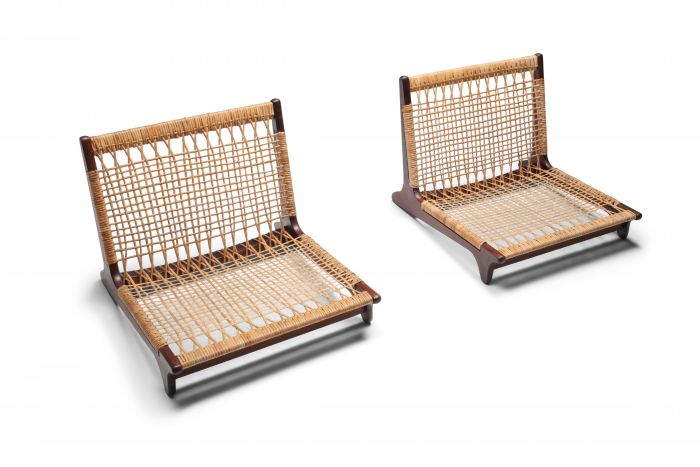 Hans Olsen low lounge chairs - 1960