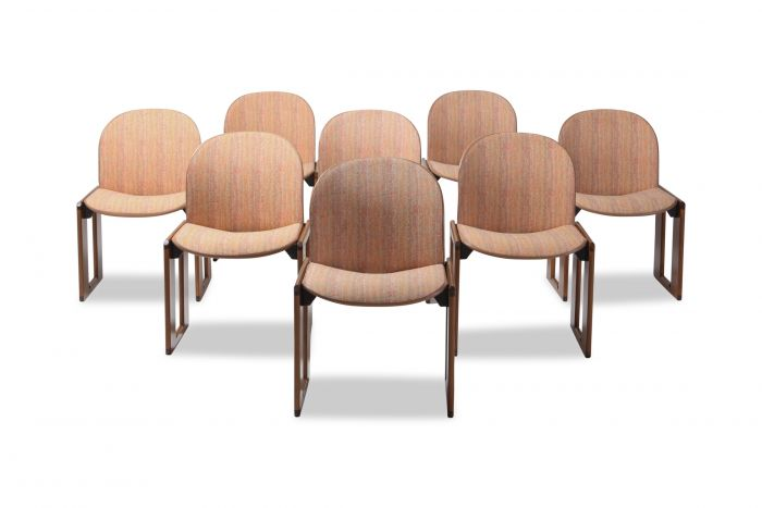 Afra & Tobia Scarpa for Cassina, Model 121 Wood and Walnut - 1970s