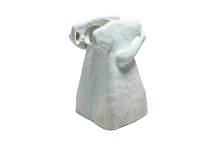 'Echo Chamber' Ceramic Interactive Sculpture by Carlo Lorenzetti - 2019
