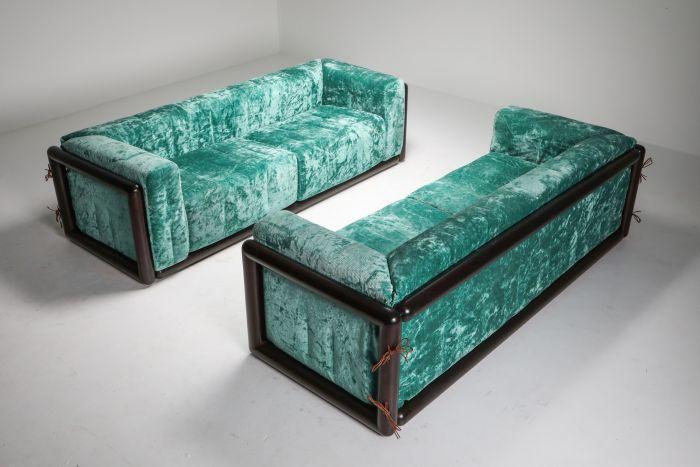 Cornaro Sofa Set by Carlo Scarpa for Simon - 1970's