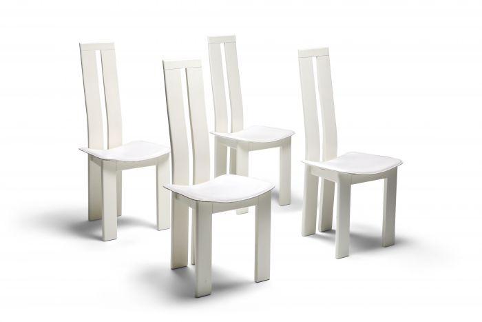 Pietro Costantini Dining Chairs - 1980s