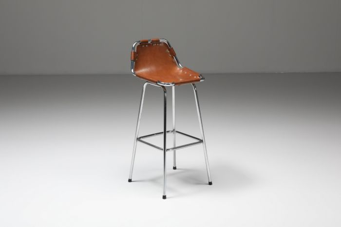 High Bar Stool by Charlotte Perriand for the Les Arcs Ski Resort - 1960's