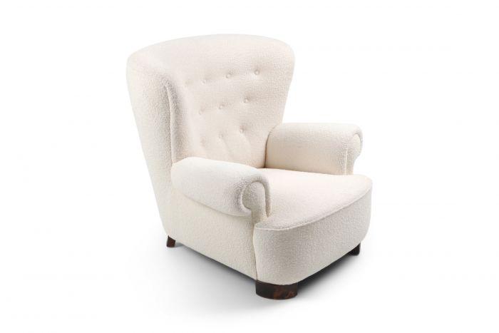 Flemming Lassen Style Armchair - 1960s