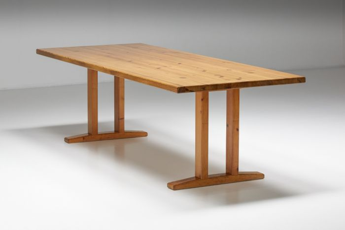 Charlotte Perriand Inspired Dining Table - 1960's