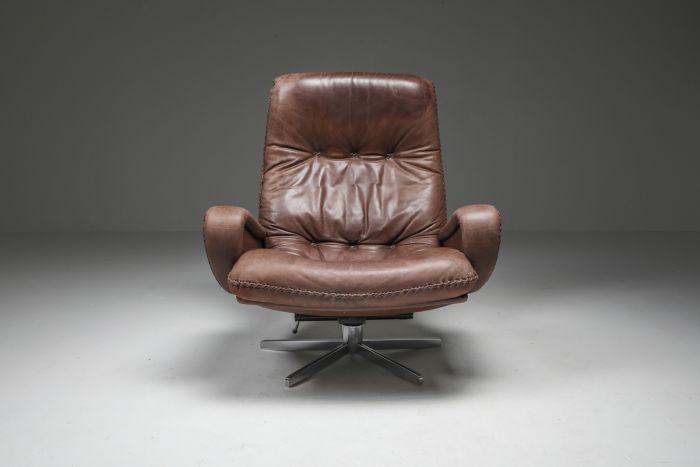 Lounge Chair S231 'James Bond' by De Sede, Switzerland - 1969