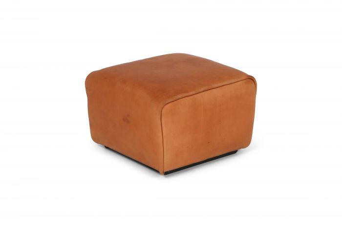 De Sede DS 47 Cognac Leather Ottoman - 1970's