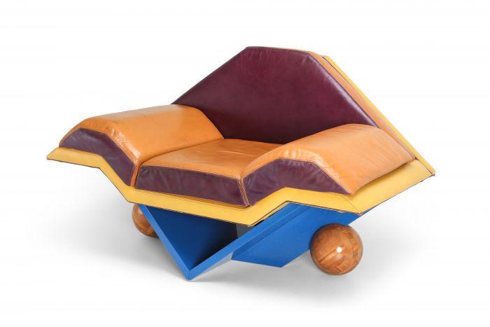 Rosenthal Memphis Club Chair - 1980s
