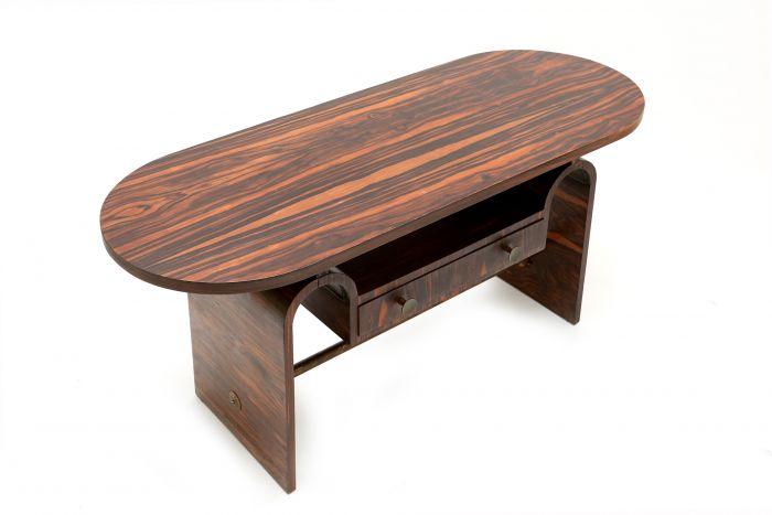 Macassar Table For Metz & Co, Mesquita - 1930s