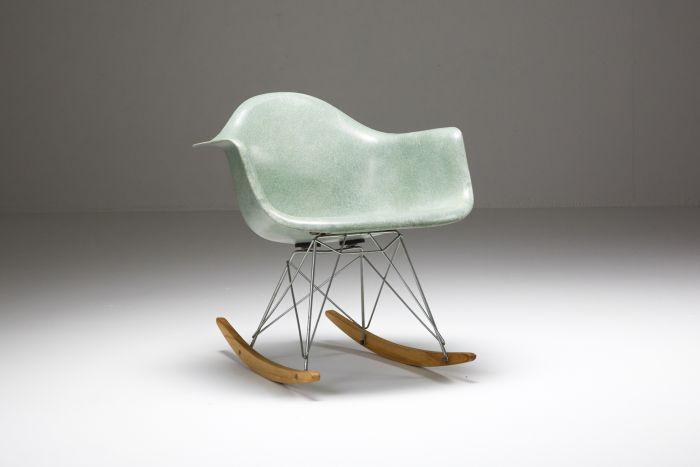 Eames seafoam rocker - 1954