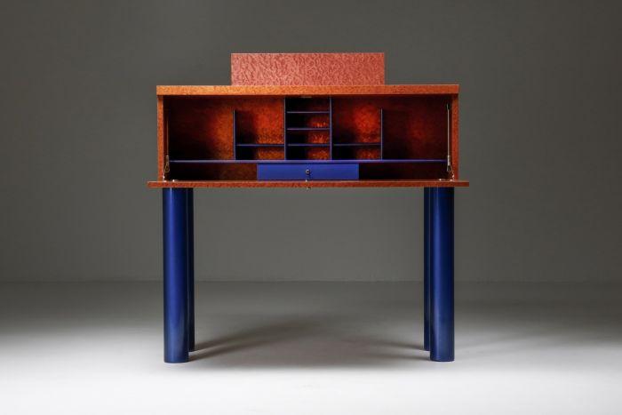 Donau Secretaire by Ettore Sottsass Memphis design - 1990's