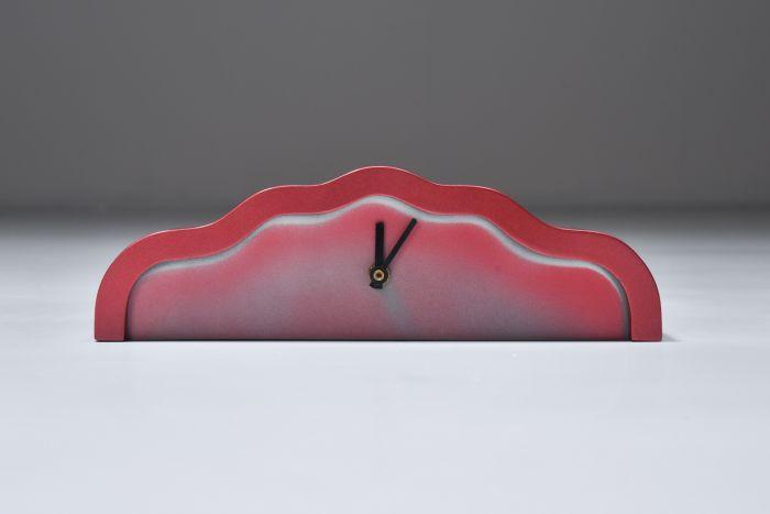 Ettore Sottsass Clock Memphis - 1980's