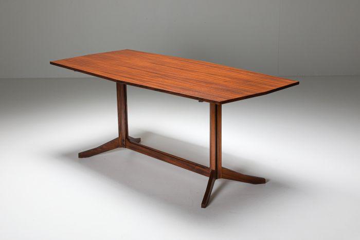 Rosewood Table TL22  by Franco Albini for Poggi - 1958