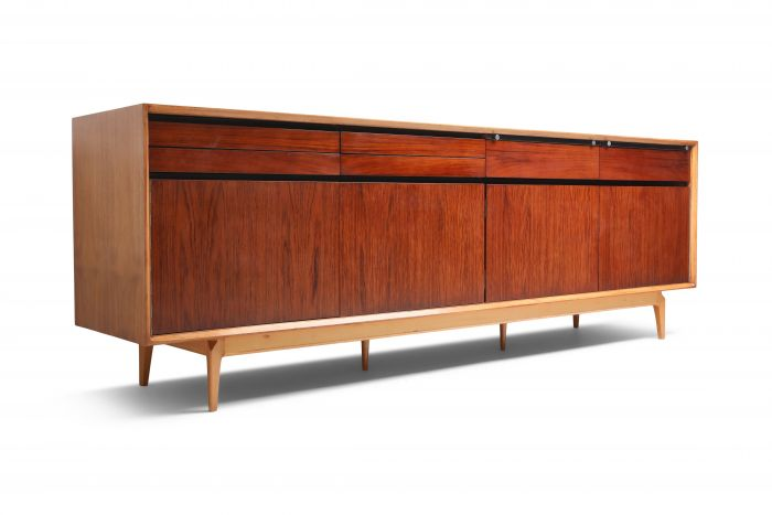 De Coene Madison Credenza in Rosewood and Walnut - 1970s
