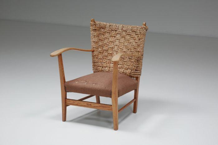 Gerard Van Den Berg Arm Chair - 1990's
