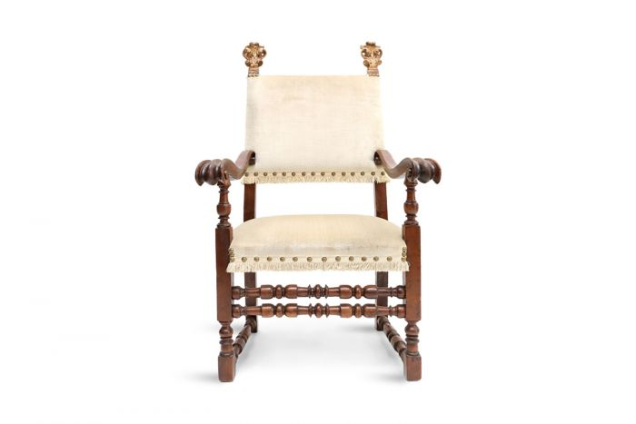 French Antique Armchair - 1890s
