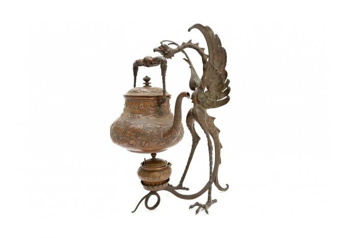 Bronze Garuda Incense Burner - 1880s