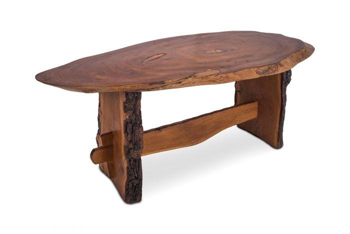 Wabi Wabi Style Dining Table In American Redwood - 1960s