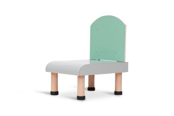 Ettore Sottsass Style Memphis Chair - 1980s