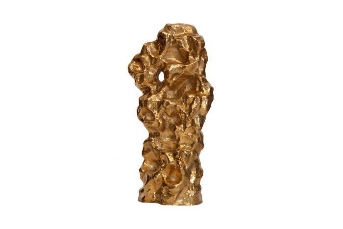 Organic Hand Casted Bronze Sculpture - 2016