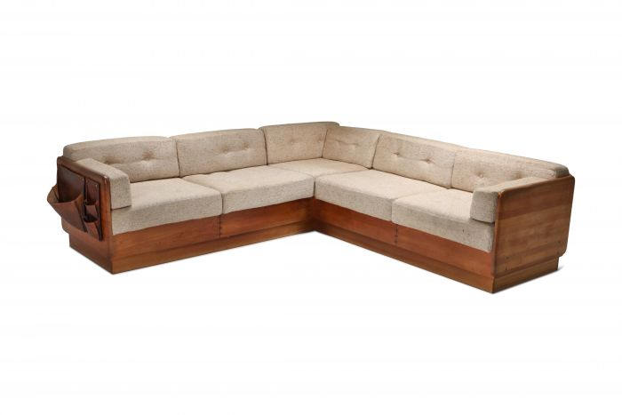 Mid-Century Modern Sectional Couch by Mikael Laursen - 1960s
