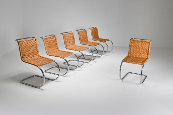Marcel Breuer Bauhaus Dining Chairs for Thonet - 1970's