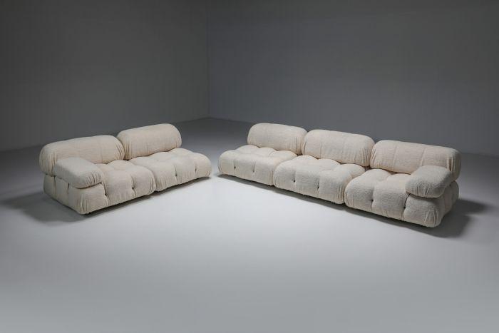 Camaleonda Sofa in Boucle Wool by Mario Bellini - 1972