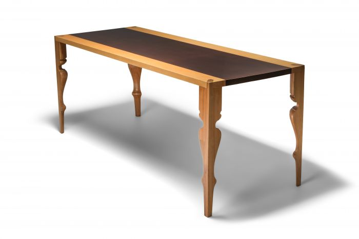 Postmodern Dining Table by Dirk Meylaerts - 1980's