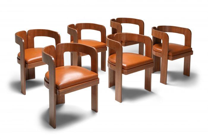 Marzio Cecchi Dining Chairs - 1970's