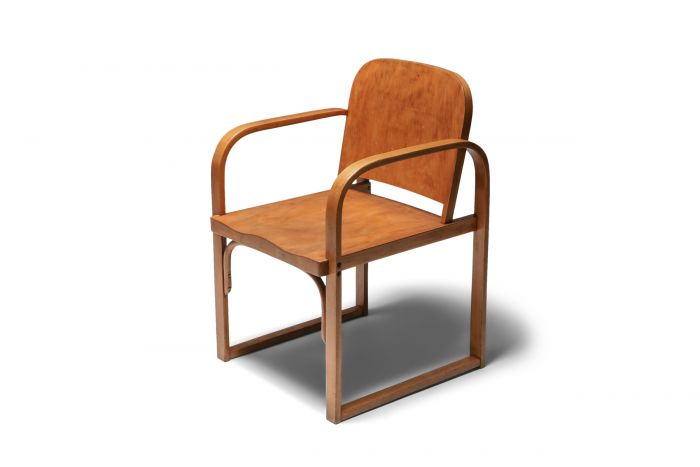 Modernist Plywood Armchair early 20th Century by Tatra - 1930s