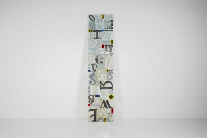 Michel Martens Postmodern Glass Sculpture - 1970's