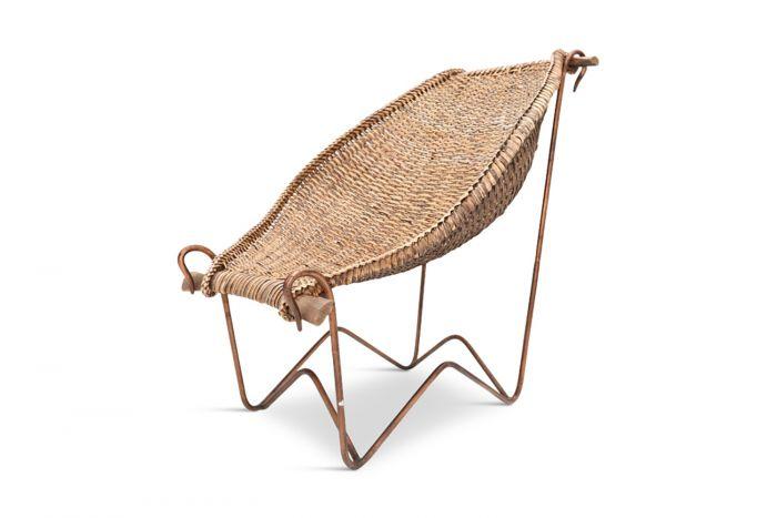 Duyan Wicker Chair, John Risley - 1950s