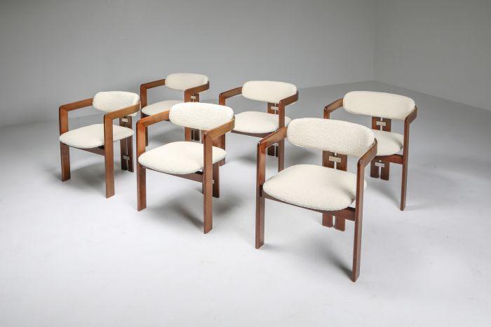 Augusto Savini 'Pamplona' Armchairs, Set of Six - 1965