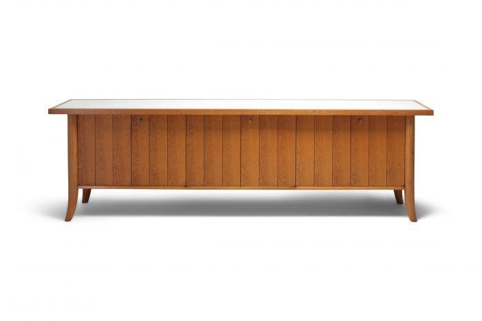 Mid-Century Modern Robsjohn Gibbings Japanese Oak Credenza - 1960s