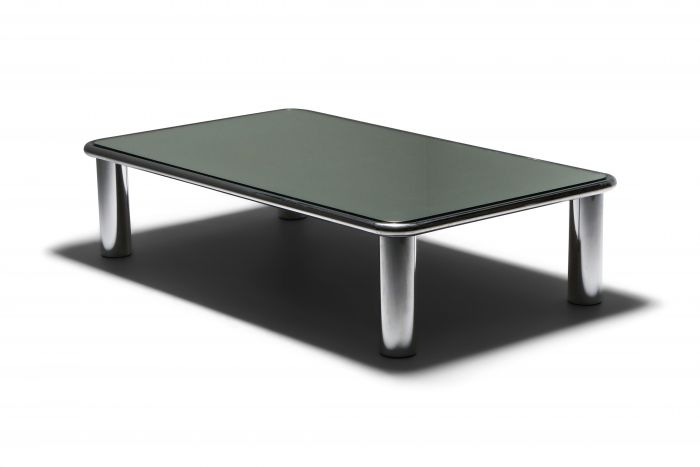 Sesann Mirrored Coffee Table by Gianfranco Frattini for Cassina - 1960's